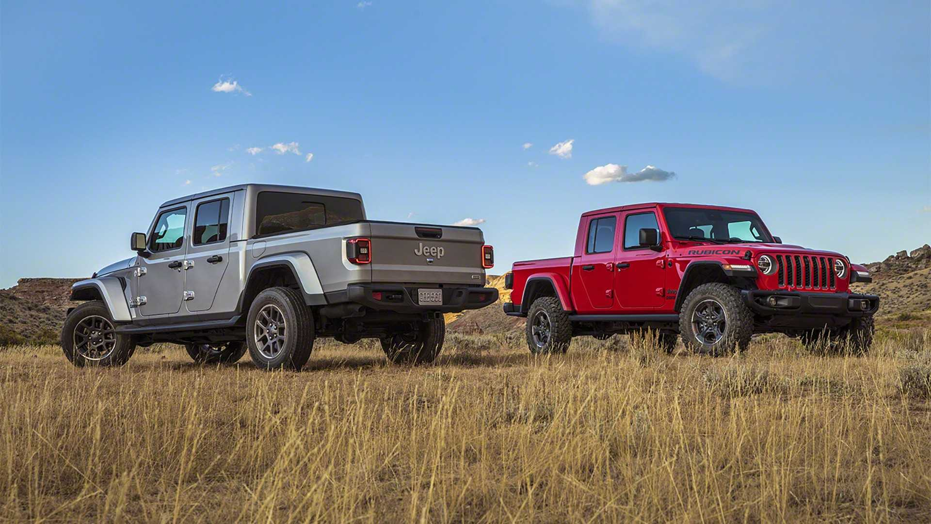 Jeep Gladiator Gets Insanely Low $143 Per Month Lease Deal