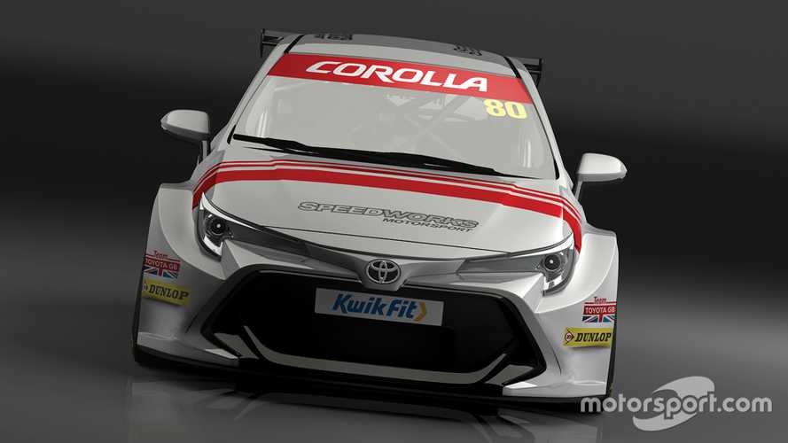 Toyota GB moniker returns to BTCC grid with new Corolla
