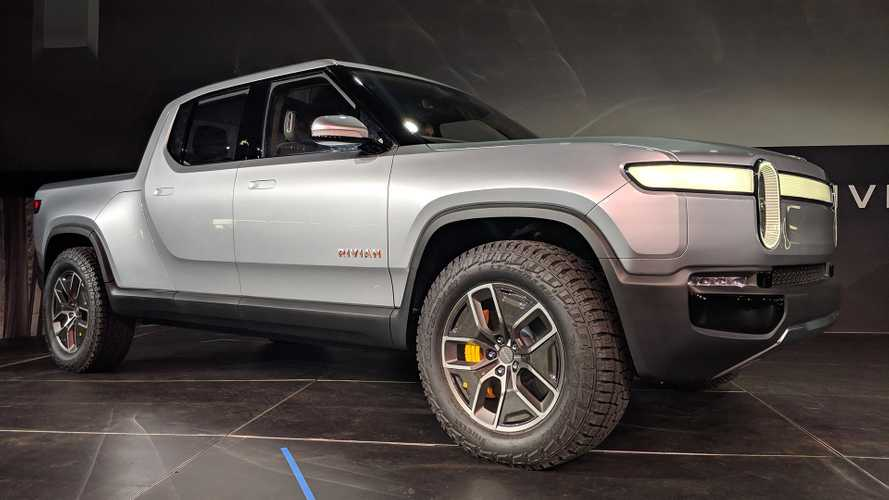 Rivian R1T Electric Pickup Truck Shocks World In LA Debut [UPDATE]