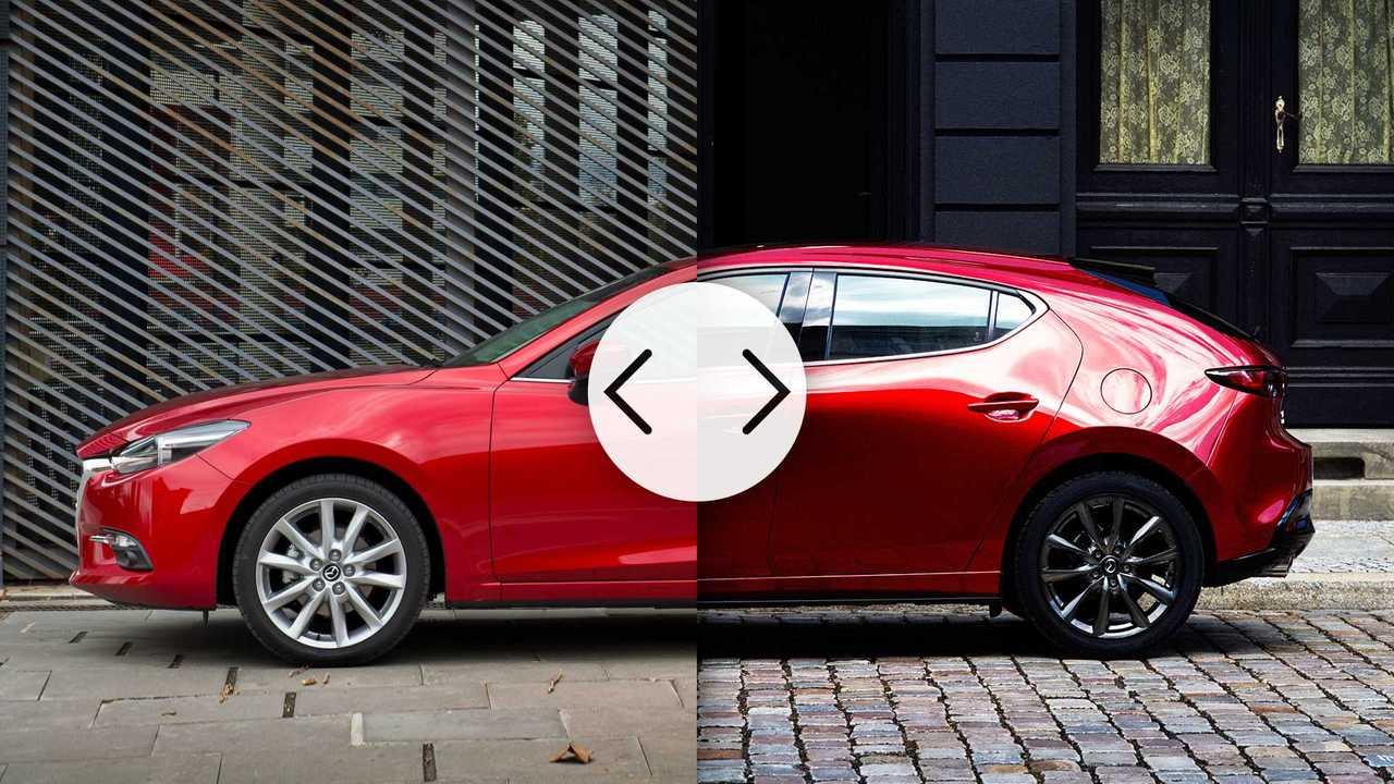 Mazda3, vecchia vs nuova