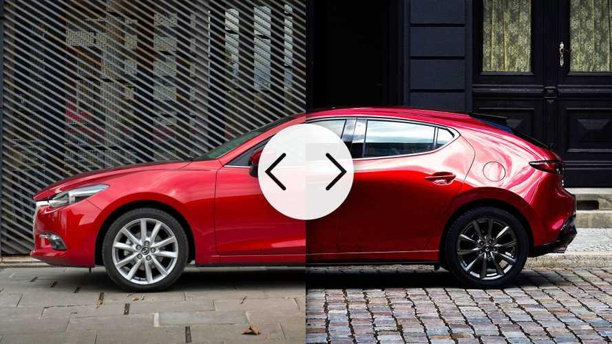 Mazda3 nuova e vecchia, tutte le differenze