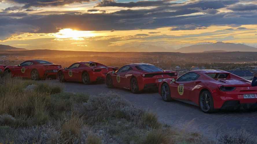 Ferrari, una mandria di Cavallini in Patagonia