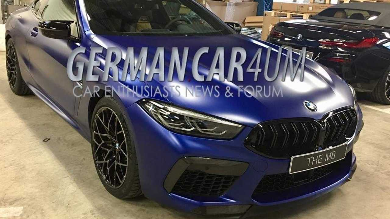 BMW M8 Competition spy photo