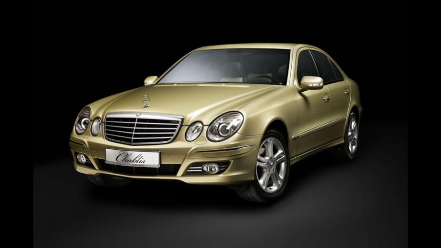 "Mercedes Classe E ""Chablis"" e... cin cin!"