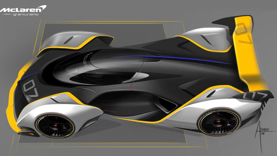 McLaren allegedly building road-going Vision GT concept
