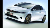 Honda Civic Type R, White Concept