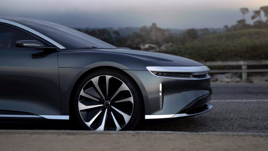 Lucid Air Monterey Car Week