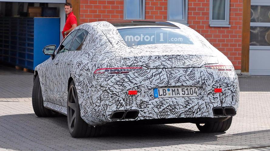Mercedes-AMG GT Four-Door Sedan Spy Shots