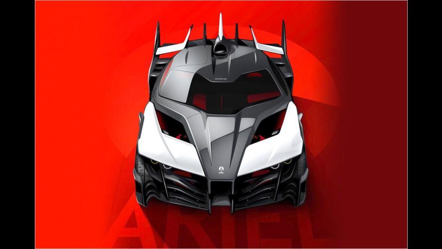 Ariel Hipercar mit Range-Extender-Antrieb