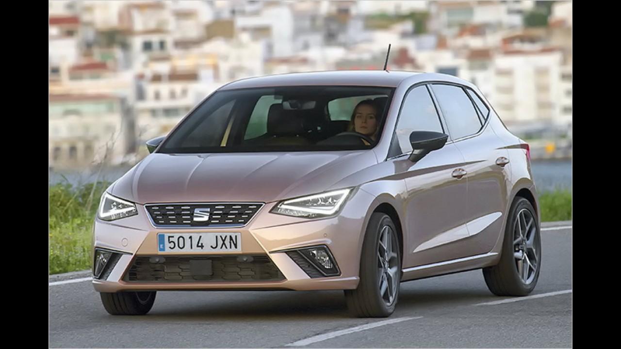 Platz 1: Seat Ibiza (355 Liter)