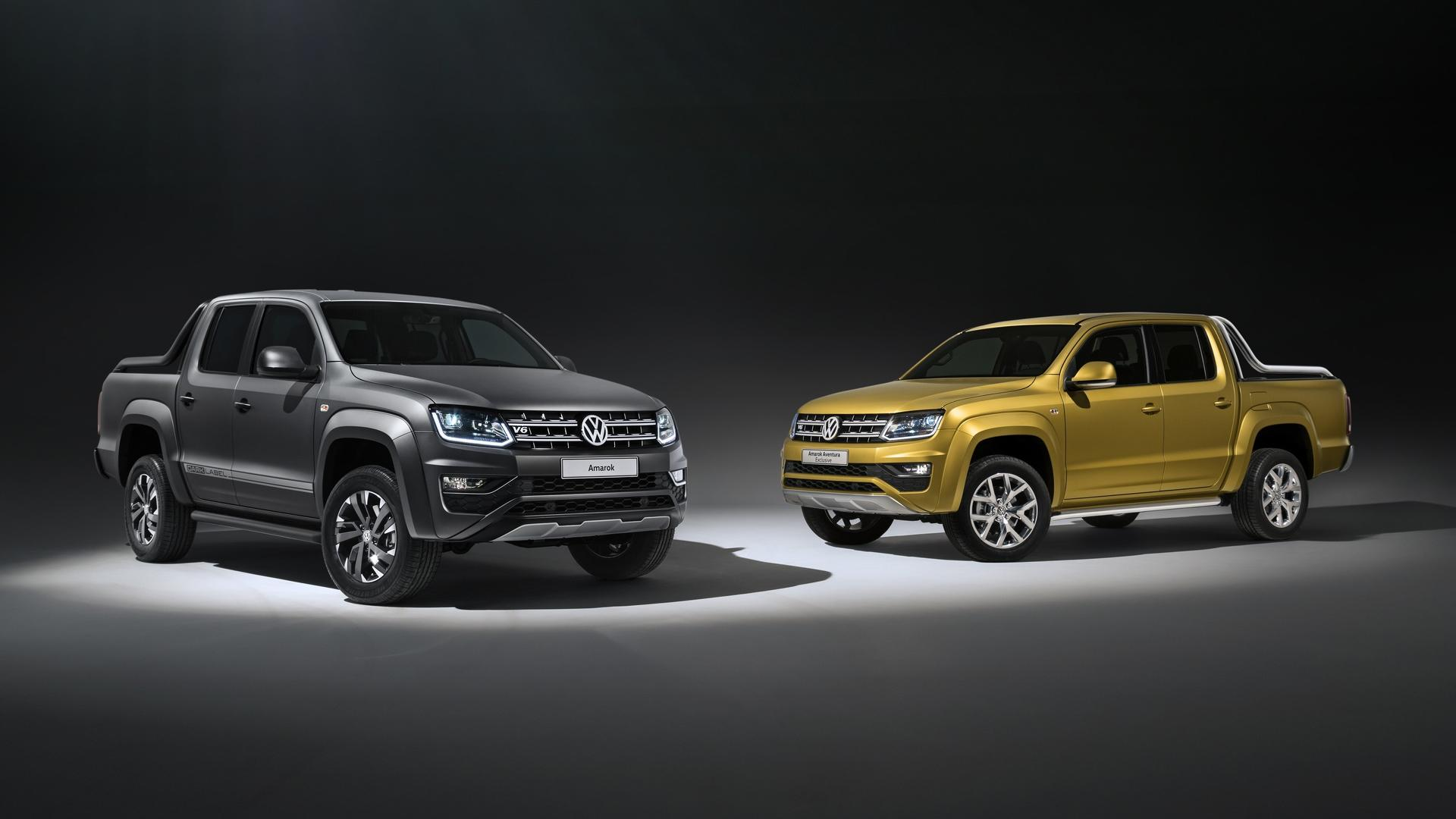 Next-Generation VW Amarok Truck Due 2022
