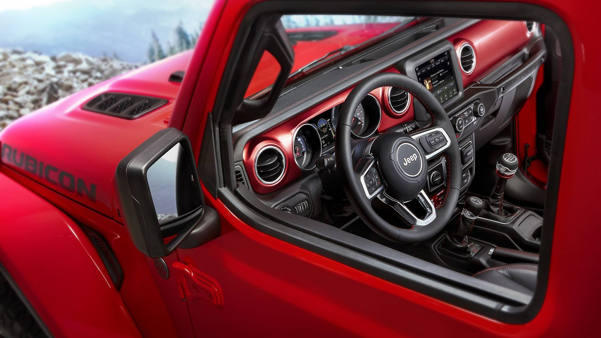 Jeep Wrangler Interior >> 2018 Jeep Wrangler Shows Off Interior In Official Images