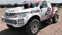 Cristina Gutiérrez Dakar 2018 Mitsubishi
