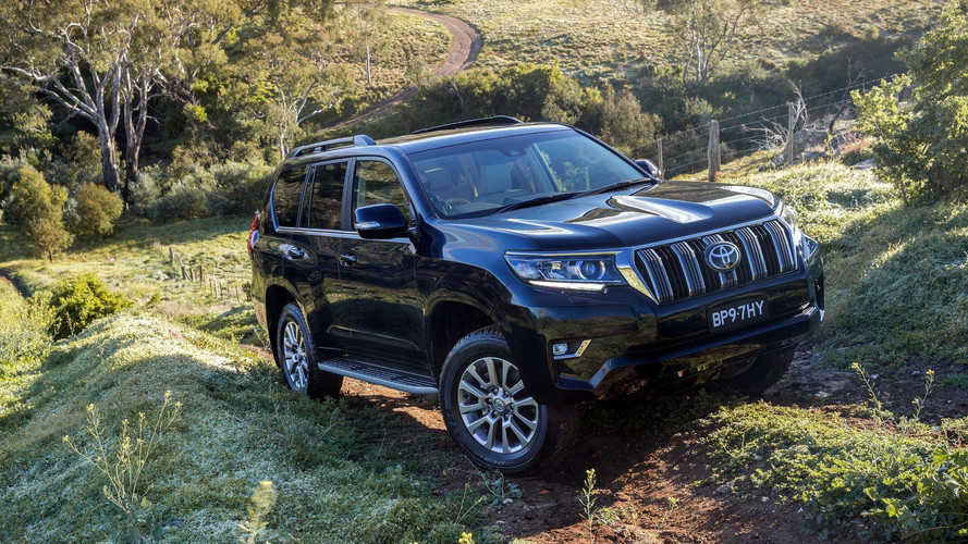 2018 Toyota Land Cruiser Avustralya resmi fotoğraflar