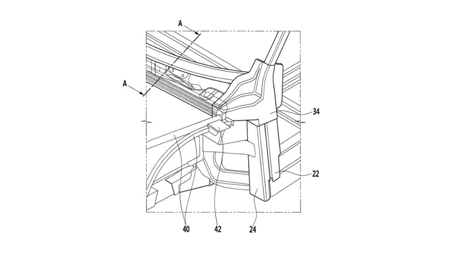 Hyundai CFRP patent