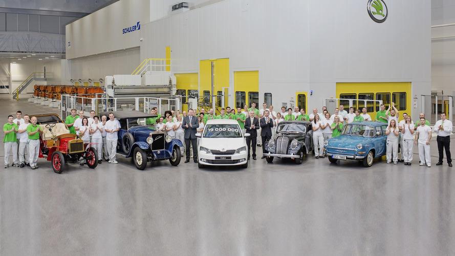 Škoda - 19 millions de voitures produites depuis le début de son histoire