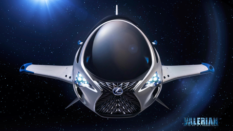 Lexus journeys into space for upcoming sci-fi movie