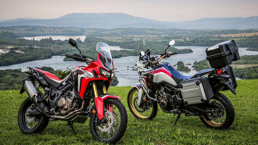 Honda registra nova Africa Twin com motor de injeção direta