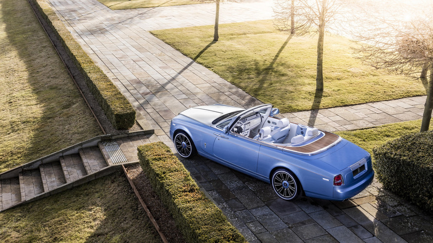 2016 Rolls-Royce Blue Magpie Phantom Drophead Coupe