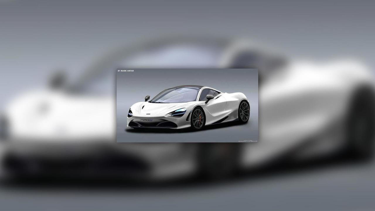 McLaren 720S Rendering
