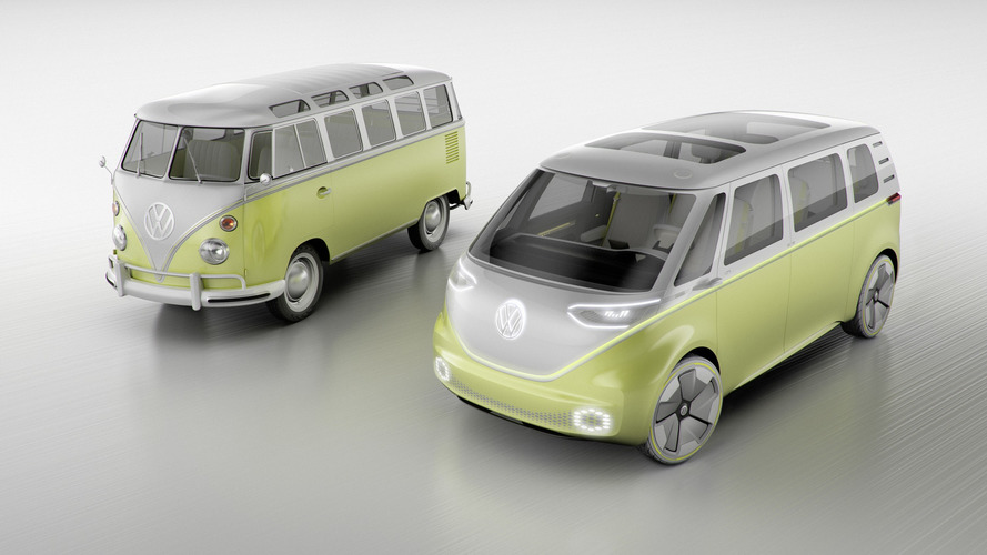 Détroit 2017 - Le passé revisité par le futur avec le VW I.D. Buzz