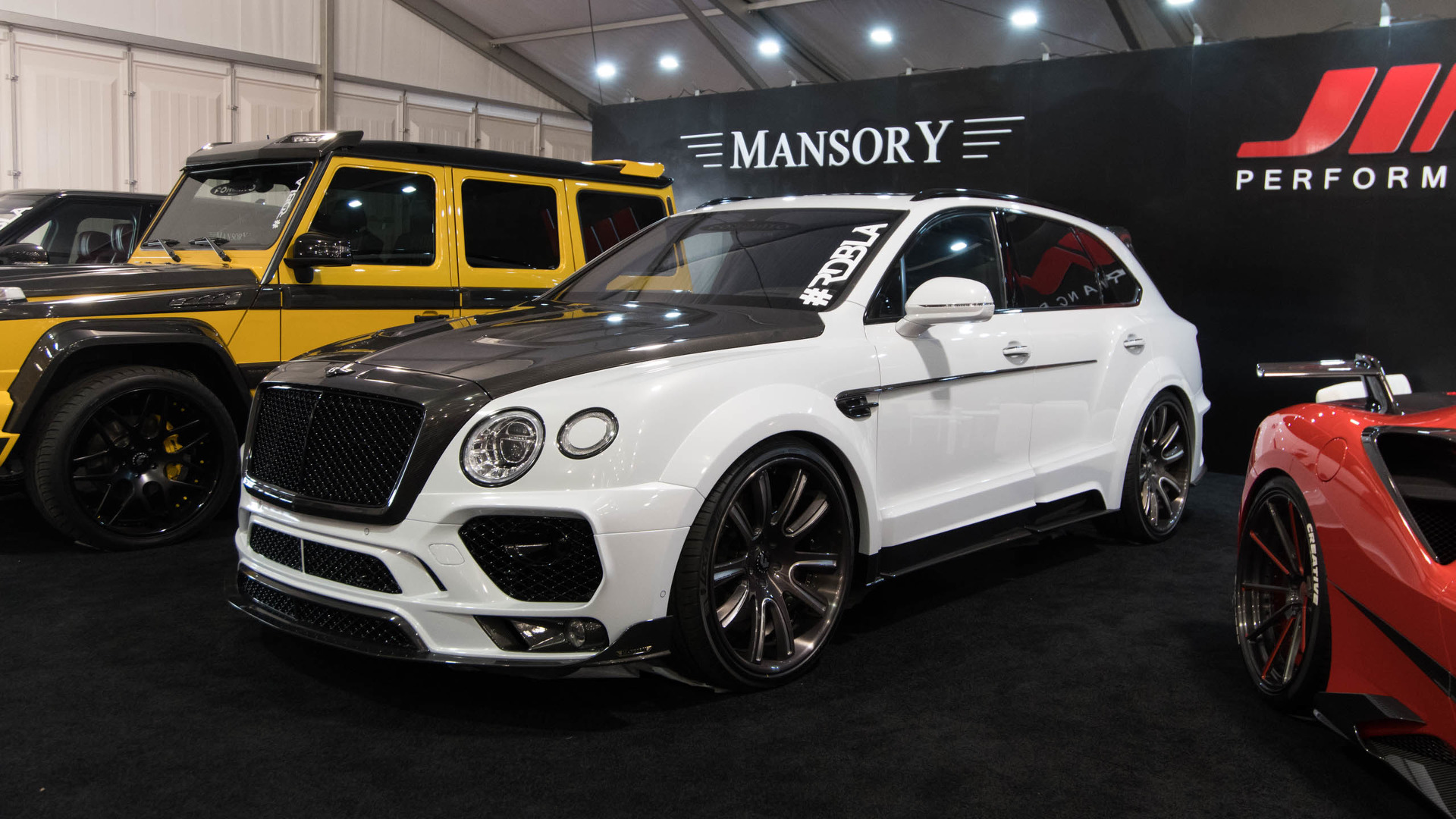 Even The Bentley Bentayga Isn T Safe From Sema