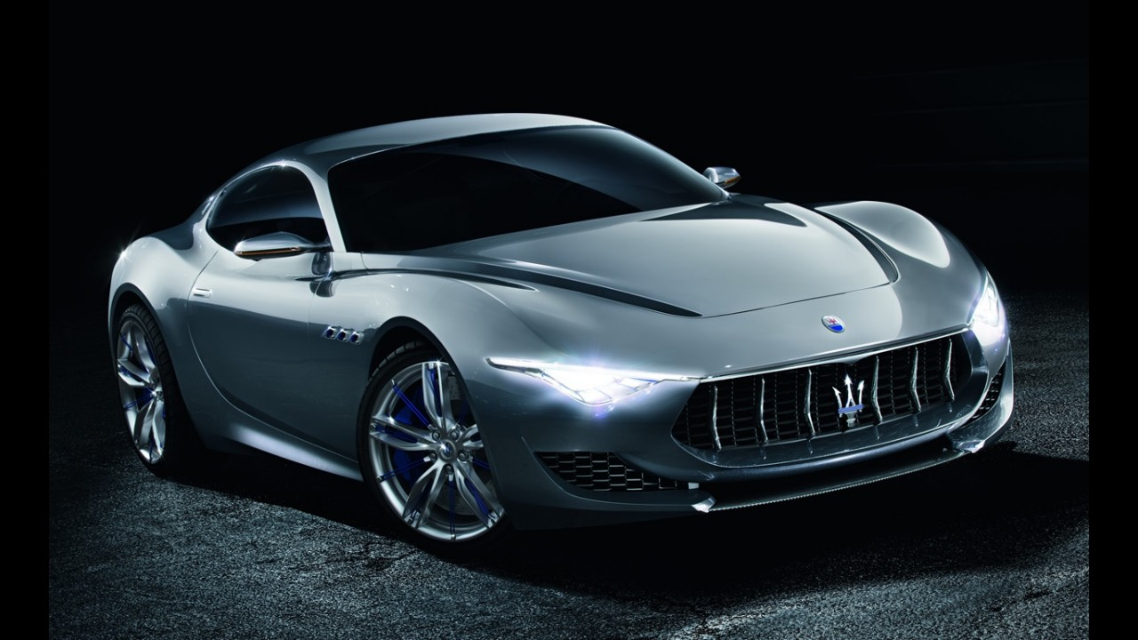 Maserati Alfieri terá versão elétrica para brigar com Tesla Model S