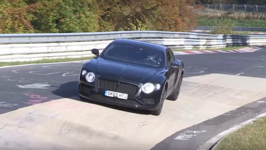 Les Bentley Continental GT et GTC peaufinent leurs réglages sur le Nürburgring