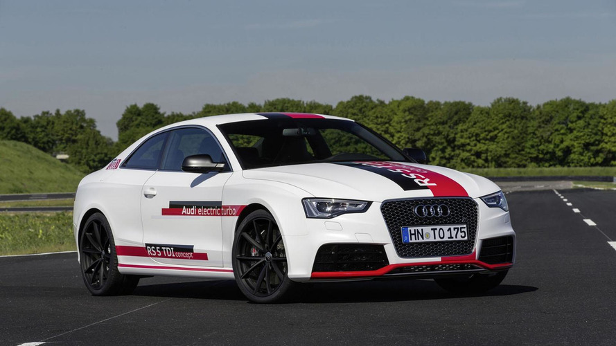 Audi RS5 TDI concept gets detailed, company highlights the e-turbo