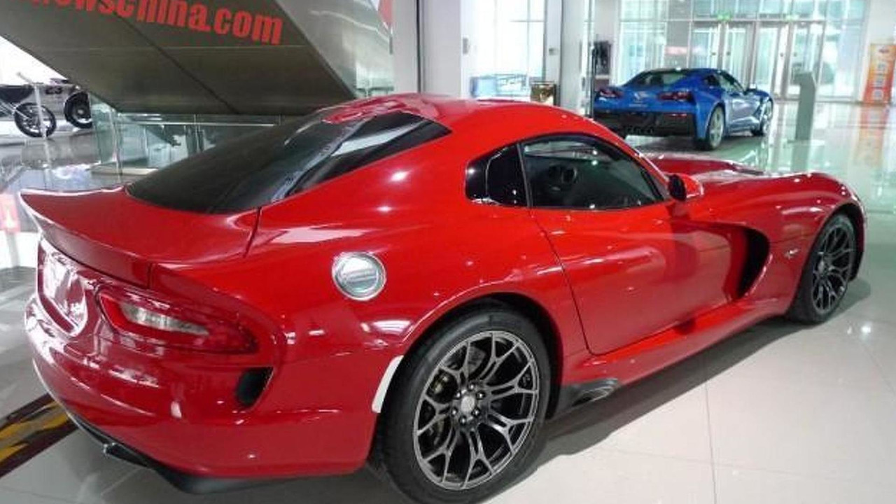 2015 Dodge Viper For Sale In China Motor1 Com Photos