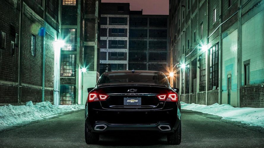 2016 Chevrolet Impala Midnight Edition unveiled
