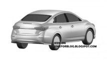 Infiniti LE production version patent pic