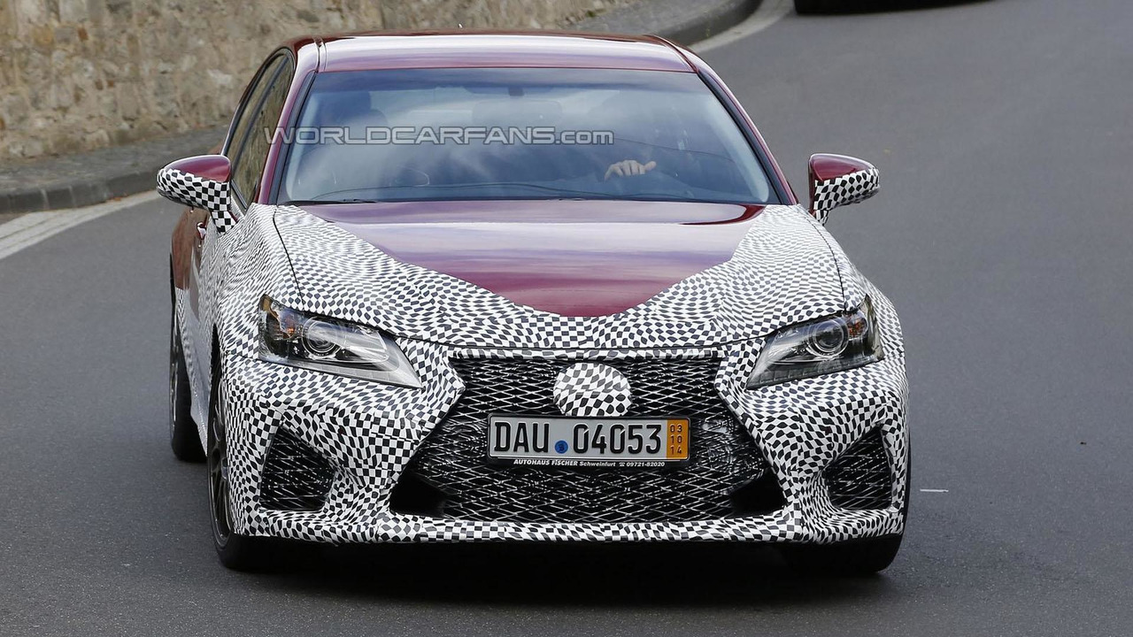 2016 Lexus GS F spy photo
