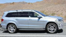2015 Mercedes-Benz GL-Class facelift spy photo