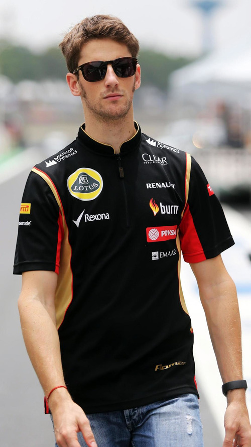 Lotus set to announce Grosjean for 2015