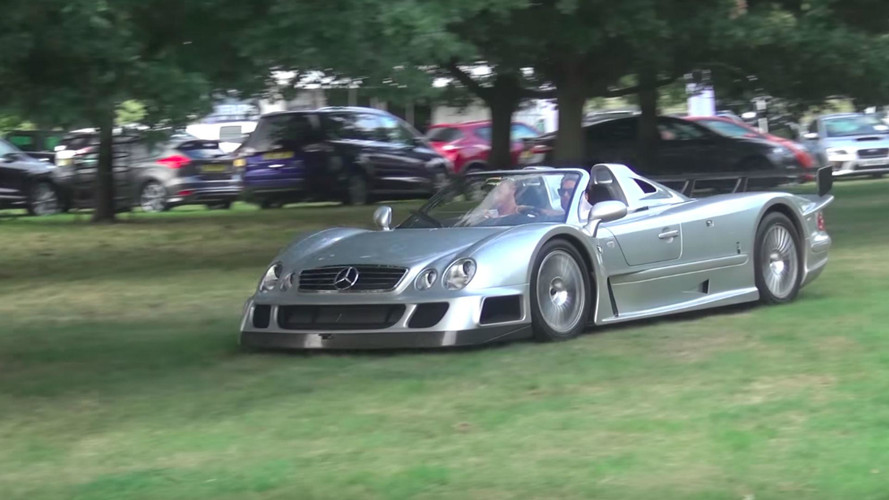 Mercedes CLK GTR Roadster