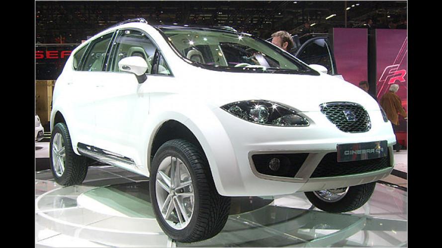 Seats erstes SUV jetzt in Genf: Altea Freetrack Prototipo