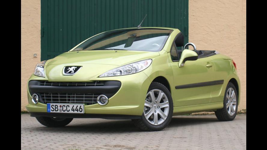 Peugeot 207 CC: Das erschwingliche ,Compromiss-Cabrio