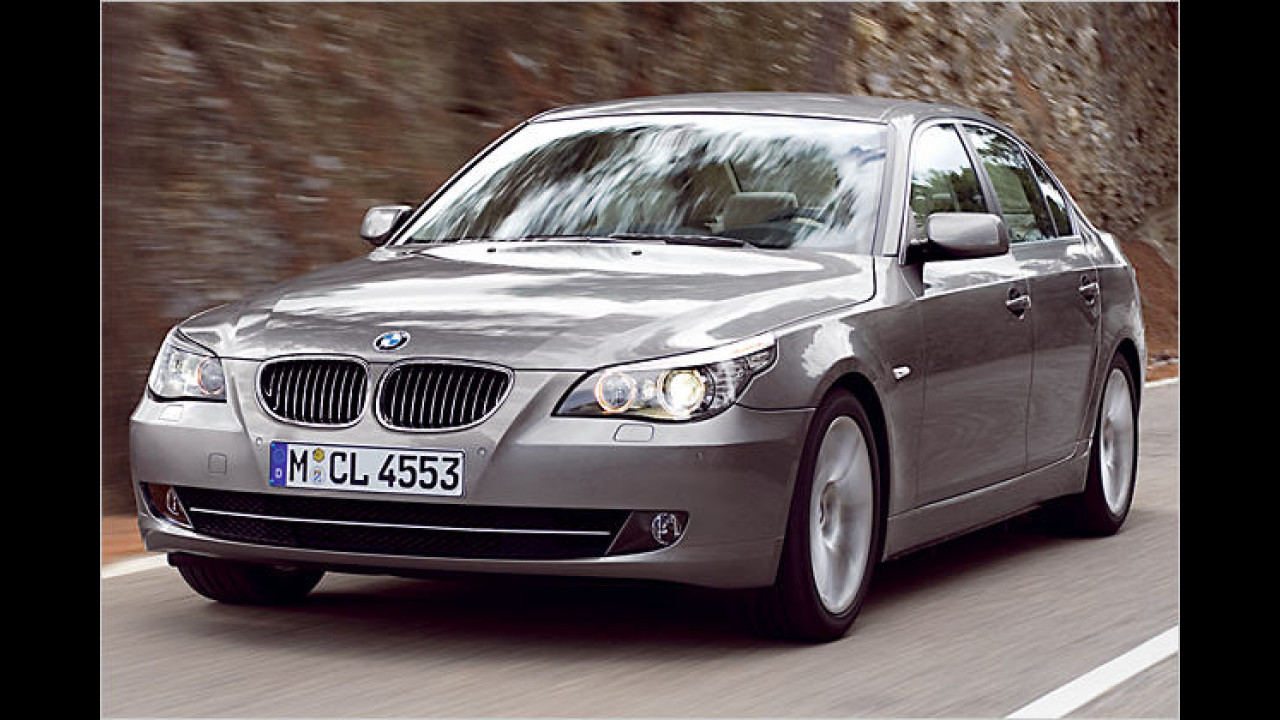 BMW 5er Facelift
