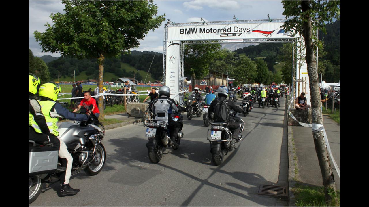 BMW Motorrad Days 2017