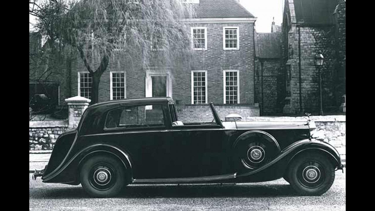 Rolls-Royce Phantom III, 1936-1939