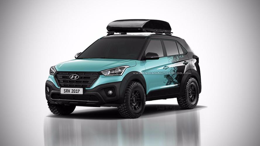Hyundai Creta X pode ficar assim, adianta site