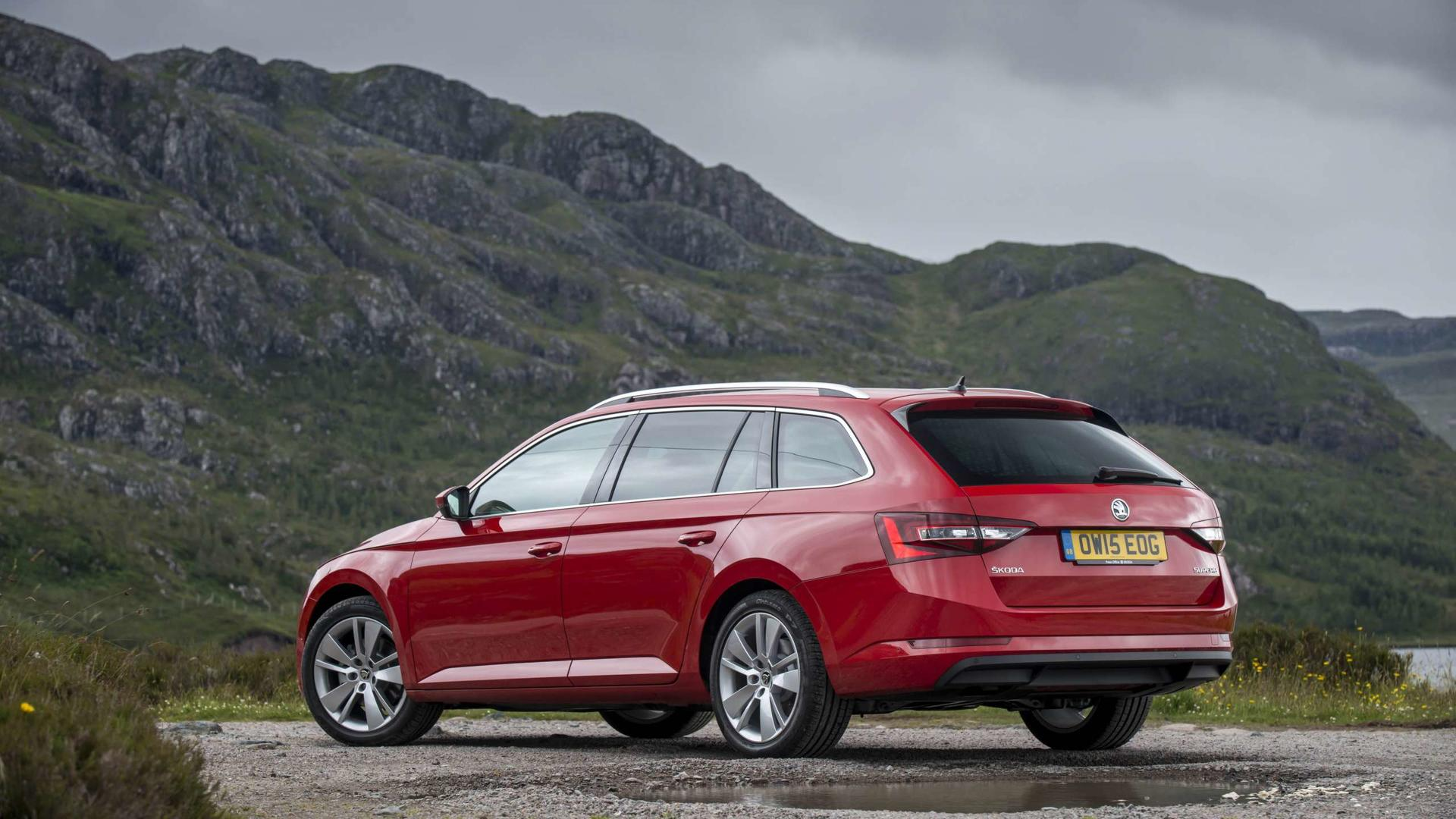2017 Skoda Superb Estate Review Brilliant Machine