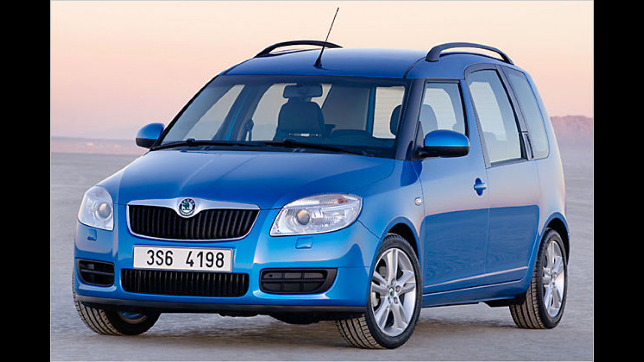 Alternative: Skoda Roomster 1.9 TDI