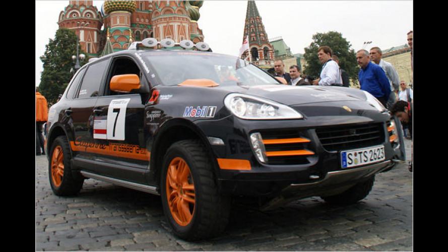 Transsyberia Rallye: Millen/Kelsey gewinnen für Porsche