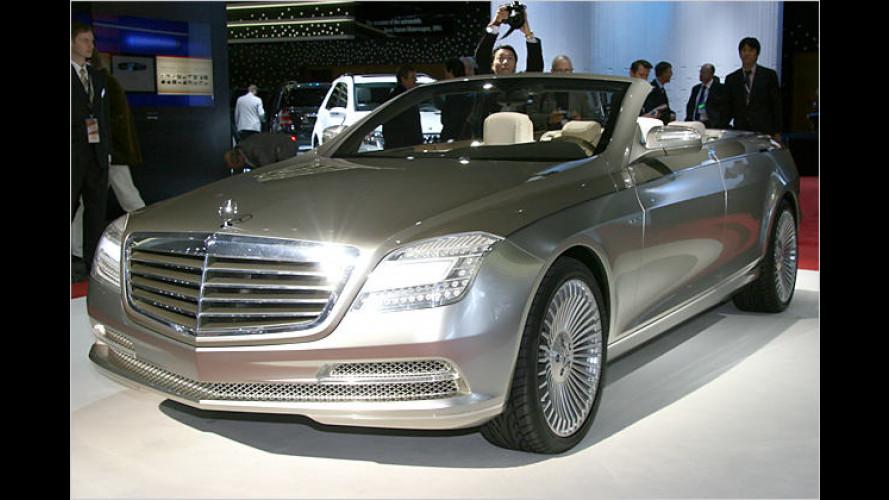Ocean Drive: Mercedes zeigt viertüriges S-Klasse-Cabrio