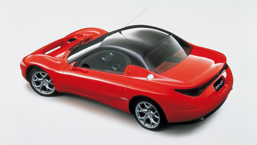 1995 Mazda RX-01: Concept We Forgot
