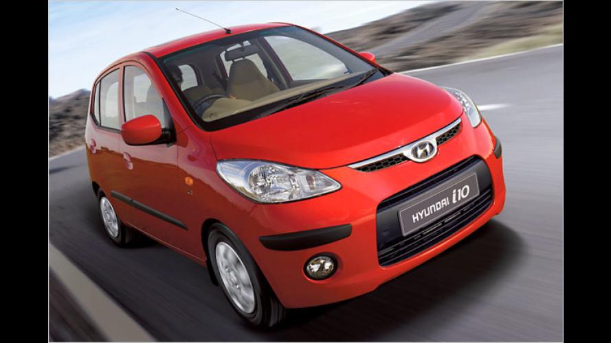 Hyundai stellt den brandneuen i10 vor: Weltpremiere in Indien