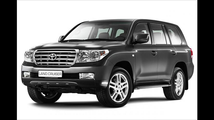 Gelände-König: Toyota zeigt den neuen Land Cruiser V8