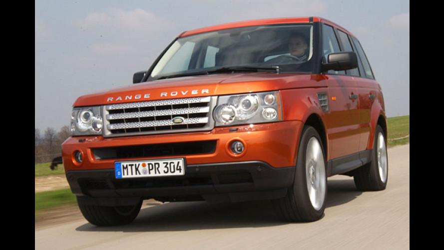 Discofein gemacht: Range Rover Sport Supercharged V8
